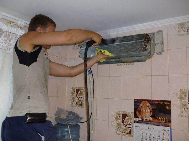 Как почистить сплит систему самсунг в домашних условиях